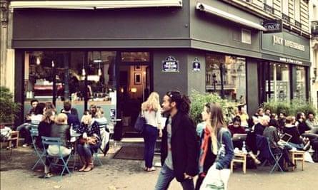 KB Cafeshop, on avenue Trudaine, South Pigalle, Paris