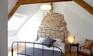 A bedroom at l'Ecurie