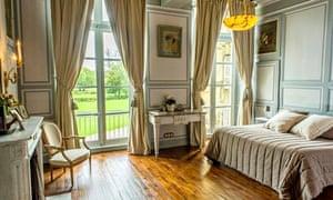 Chateau de Prye, Bedroom
