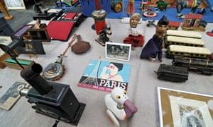 Porte de Vanves flea market, Paris