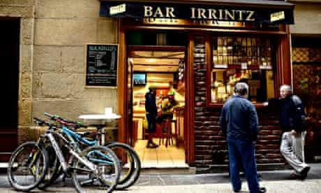 Bar Irrintz, San Sebastián.
