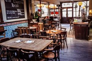 The Queens Head pub, London