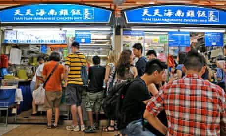Tian Tian, Singapore