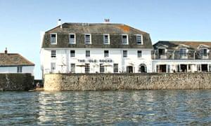 The Idle Rocks hotel, St Mawes, Cornwall