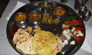 Thali at the Friends Union Joshi Club