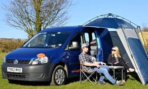 VW camper car