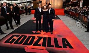 Godzilla European premier