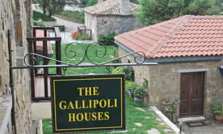 The Gallipoli Houses, Turkey