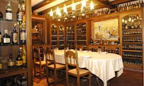 La Masia restaurant in Sitges, Spain