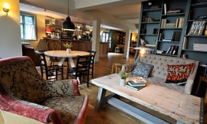 Bar area and dining room, Bel and the Dragon, Churt, Surrey