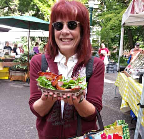 Karen Brooks at The Farmers Market