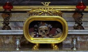 St Valentine's Skull
