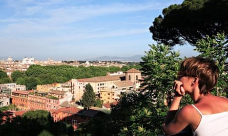 View from Gianicolo (Janiculum Hill)