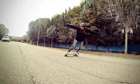 Longboarding in Spain