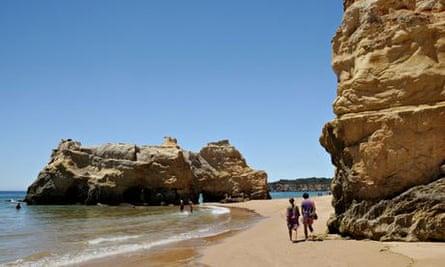 Praia da Rocha beach, Portimao