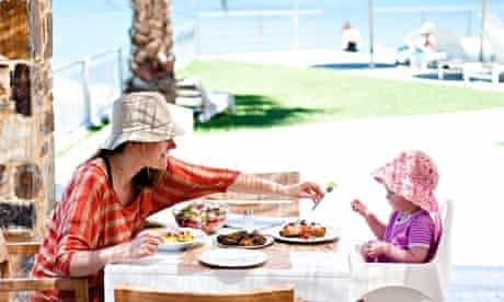 Family fun in the Greek sun … at the Ammos Hotel