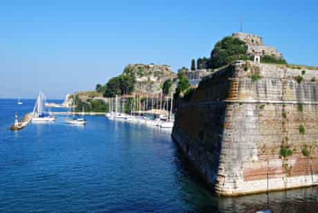 Neo Frourio (New Fortress), Corfu Town.