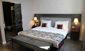 Zichy hotel room, Budapest