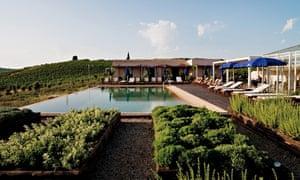 The pool at La Foresteria