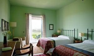La Foresteria bedroom