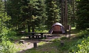 Mike Harris Campground, Idaho
