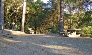 Pine Mountain Lake campsite