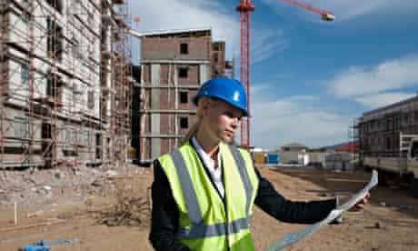 Woman civil engineer