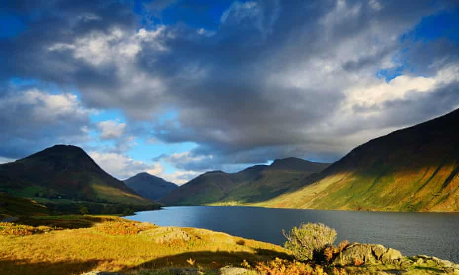 Wast Water in autumn