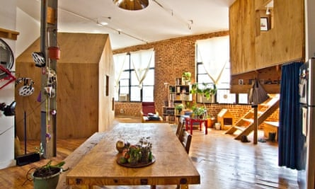 A loft rental in Brooklyn available on Airbnb