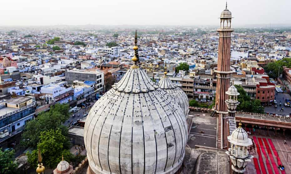 The view from Jama Masjid mosque