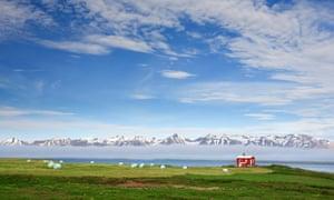 The haunting and captivating north Iceland landscape, near Akureyri
