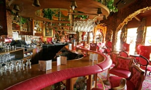 The bar at the Madonna Inn
