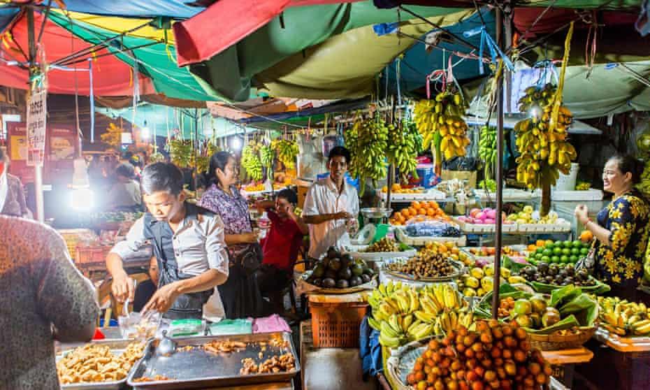 Cambodia, Phnom Penh Night Market