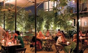Hotel San Jose bar, Austin, Texas