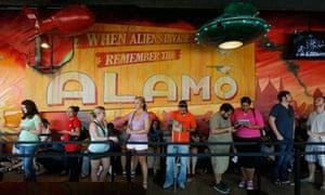 Alamo Drafthouse Cinema in Austin, Texas