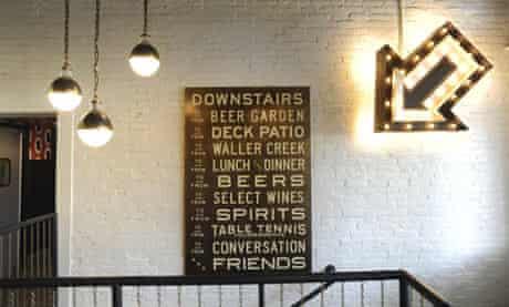 Easy Tiger bar, Austin, Texas