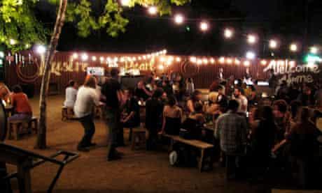 Lustre Pearl bar, Austin, Texas