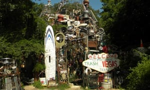 Cathedral of Junk, Austin, Texas Cathedral of Junk
