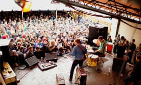 Live show - Black Keys on stage in Austin, Texas