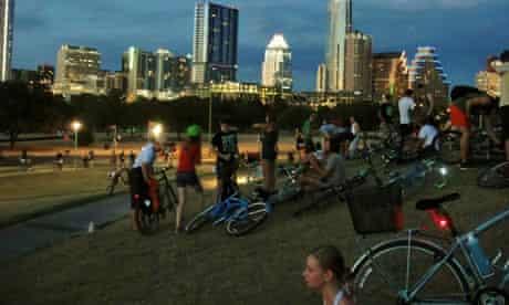 Thursday Night Social Ride, Austin, Texas