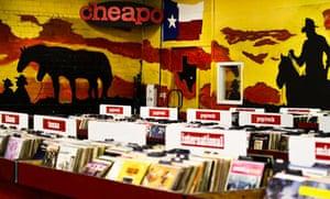 Cheapo Records store, Austin, Texas