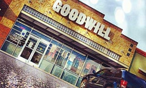 Goodwill Blue Hanger vintage store, Austin, Texas