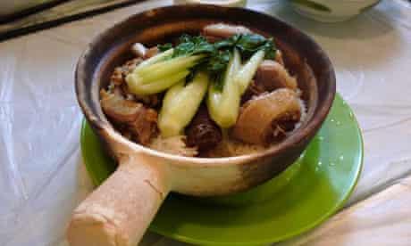 Eel Claypot from Choi's Kitchen, Hong Kong