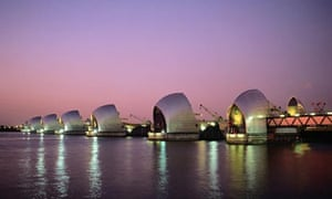 london thames barrier travel