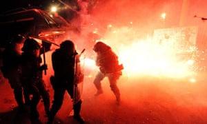violent night in Naples