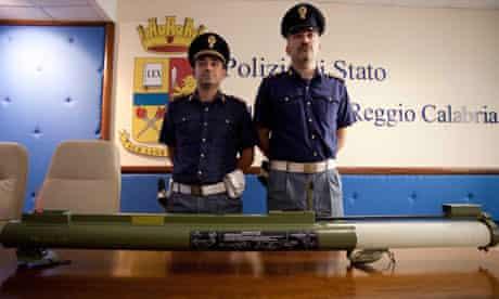 Bazooka found in fresh threat on Reggio prosecutor