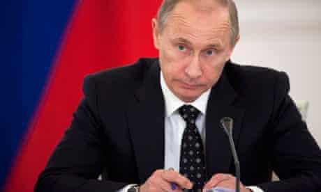 Russia's prime minister Vladimir Putin