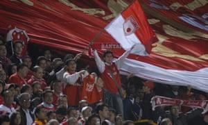Independiente Santa Fe supporters