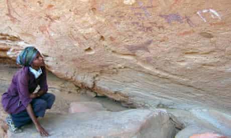 dr sada mire rock art somaliland