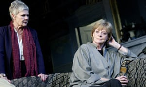 JUDI DENCH AND MAGGIE SMITH
